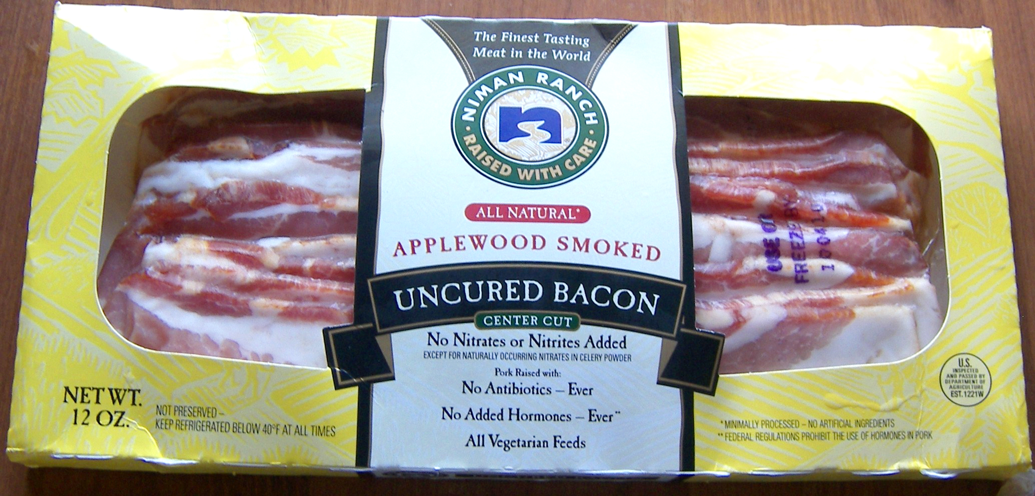 Featured Product: Niman Ranch Bacon