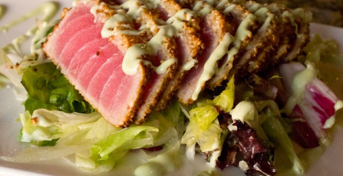 Recipe: Sesame Seared Tuna with Wasabi Cream