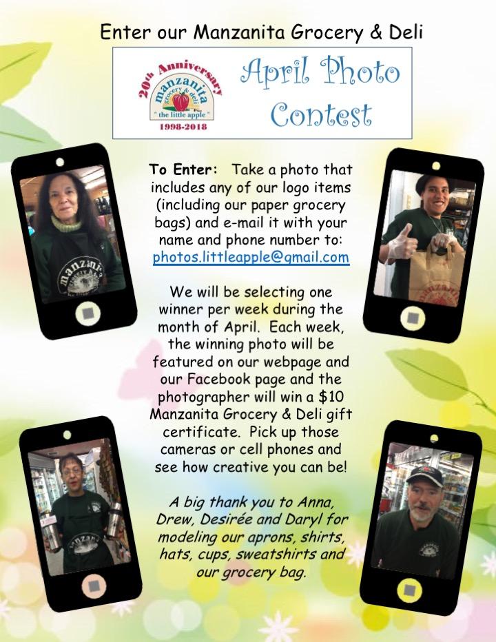 April Photo Contest