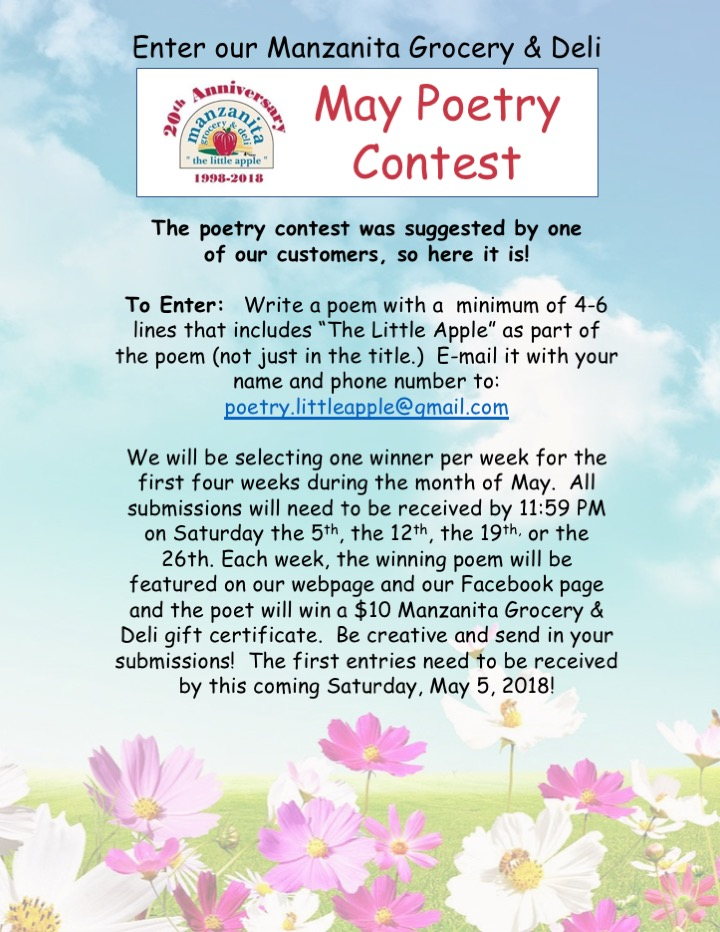 May Poetry Contest