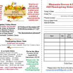 2020 Thanksgiving Prices w order form